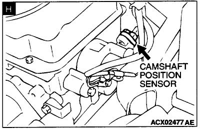 M on Chevy Malibu Crankshaft Sensor Location