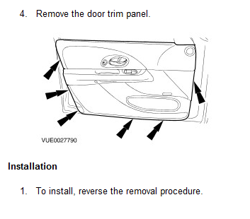 Suzuki Kizashi Front Door Panel Removal