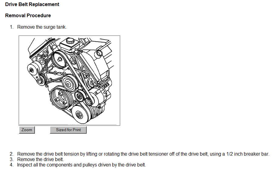 belt routing diagram for 2001 oldsmobile intrigue 3 5 engine