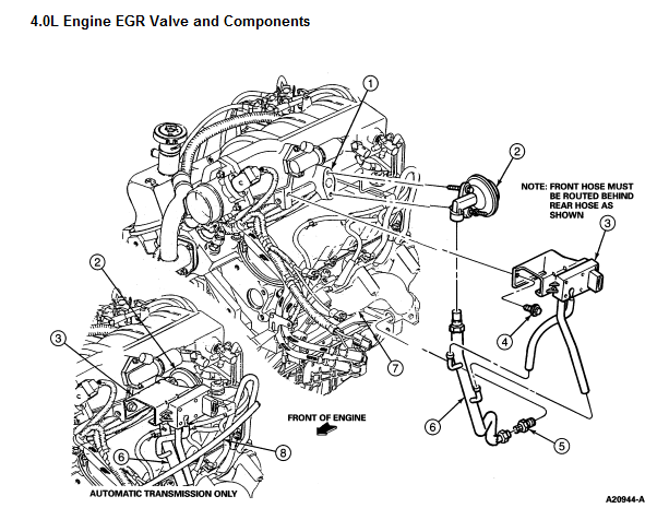 2004 explorer heater diagram
