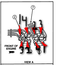 What is firing order for 1997 Ford    Ranger    2WD 23L How do