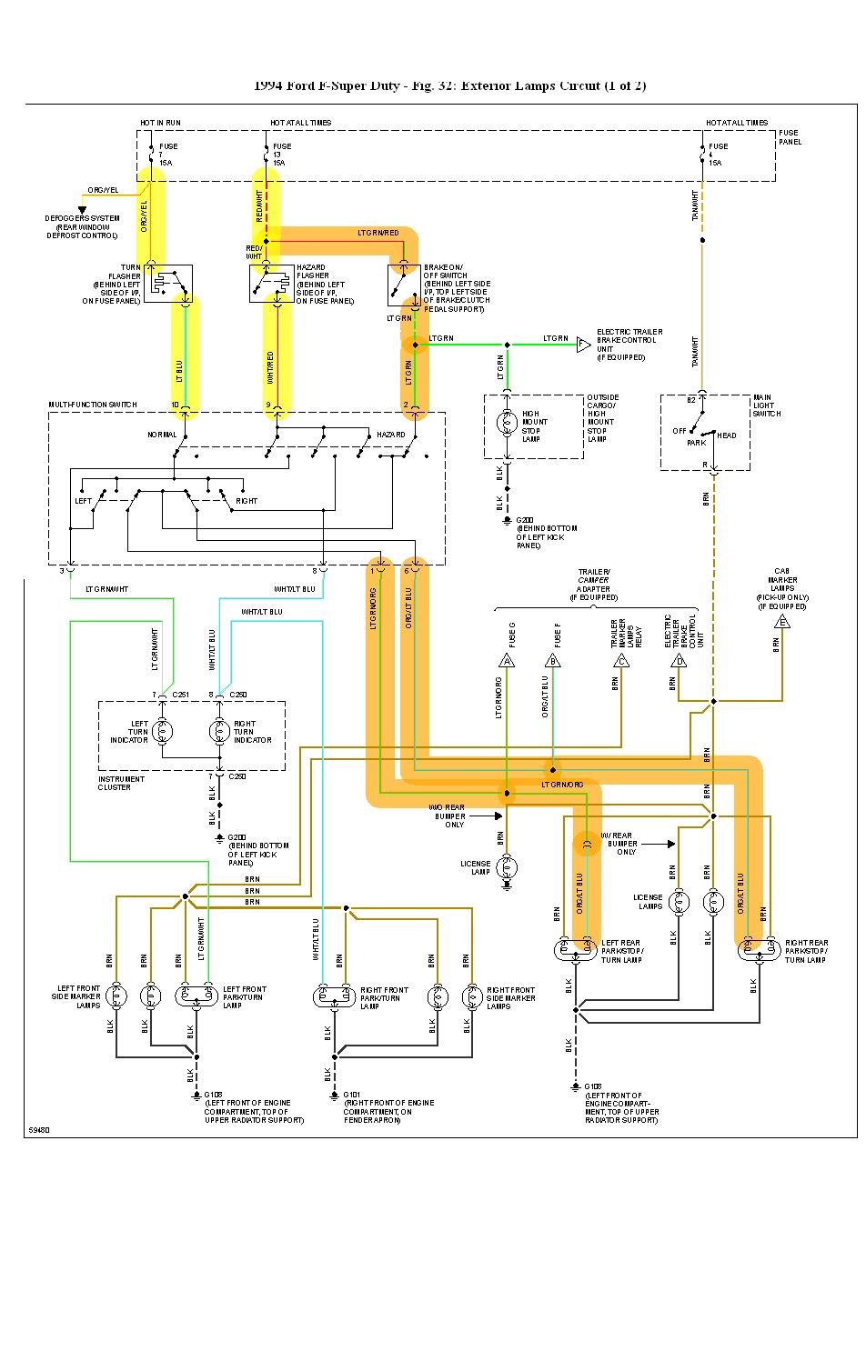fleetwood rv wiring diagrams for  fleetwood  free download