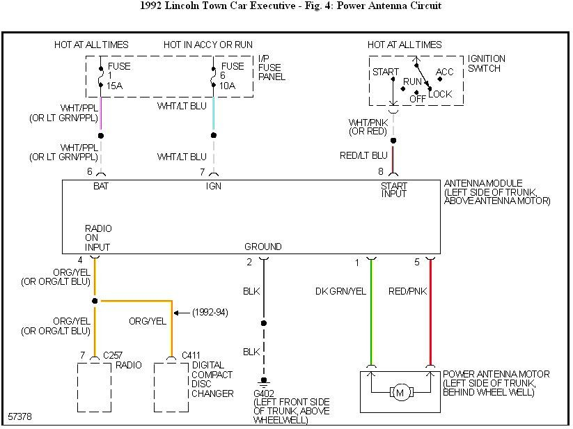 fuses check ok. getting power back to ant motor when radio ... car power antenna wiring diagram