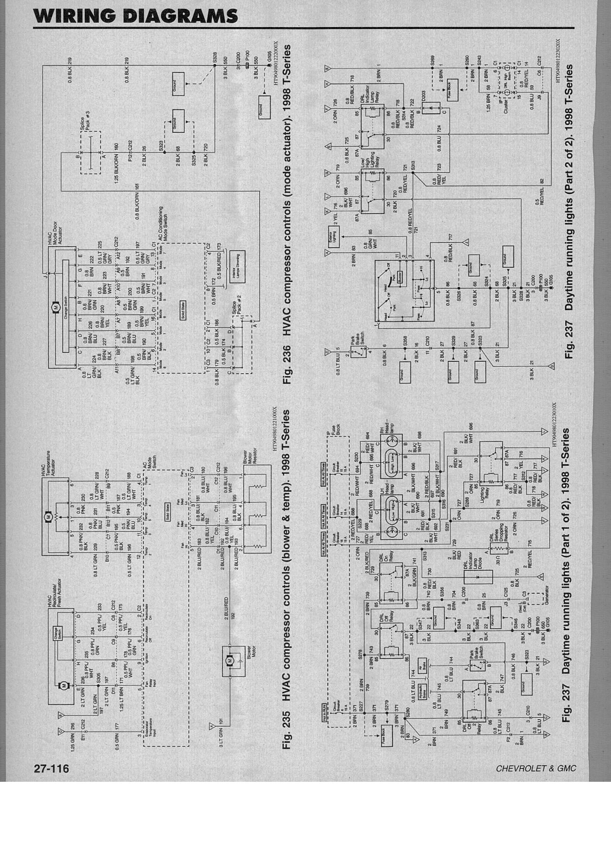 Need AC    wiring       diagram    for 99    GMC    T6500 truck Has Isuzu ponents