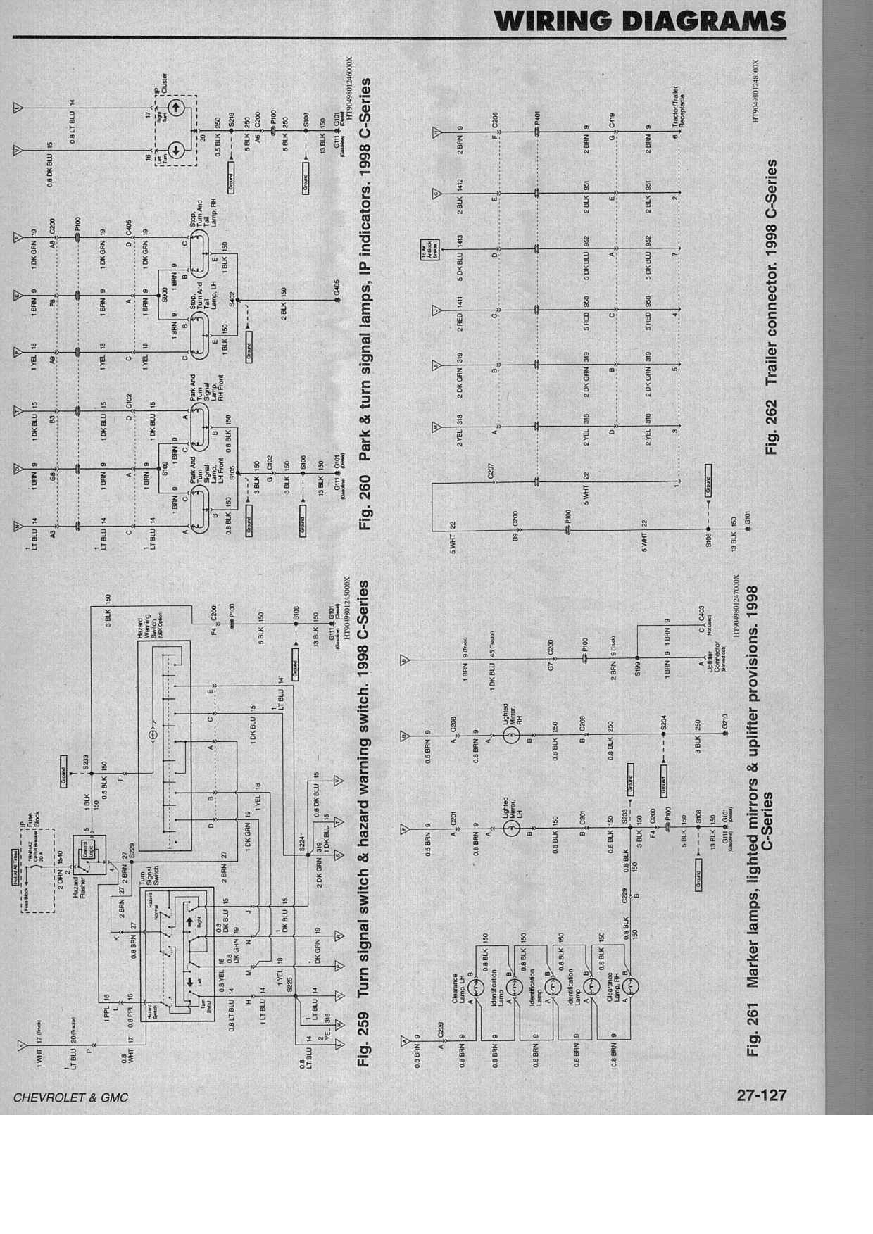 i have a 7500 chevy dump truck in the shop-has cat 3126 ... gmc c6500 wiring schematics #13