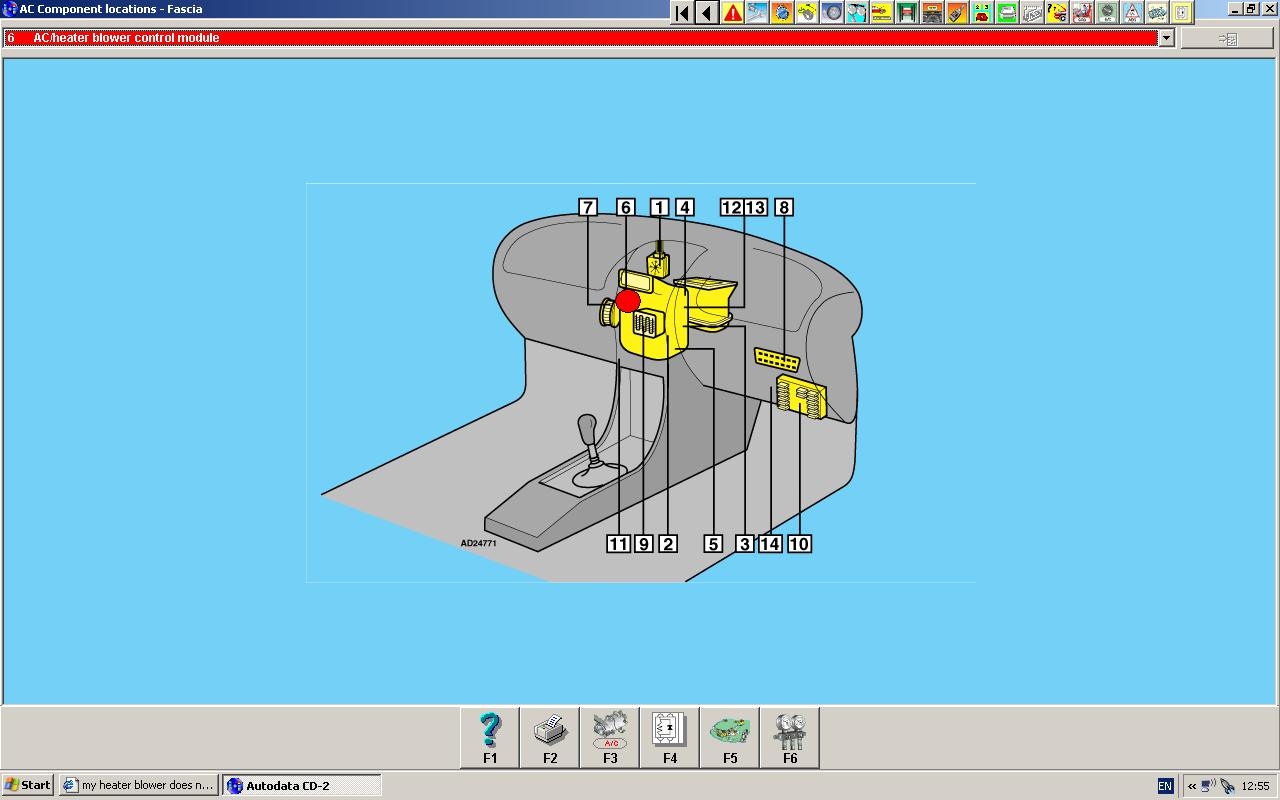 heater blower hdi heater motor and 40 amp fuse in fuse box graphic