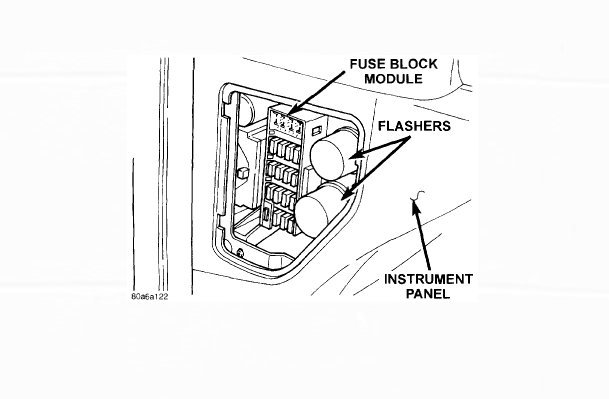 Watch additionally 3 Wire Pickup Wiring in addition Fuses And Relay Dodge Durango additionally 94 Infinity Q45 Fuse Box Diagram also RepairGuideContent. on dodge dakota flasher