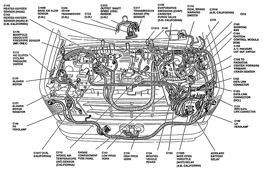 ford windstar vacuum leak intake