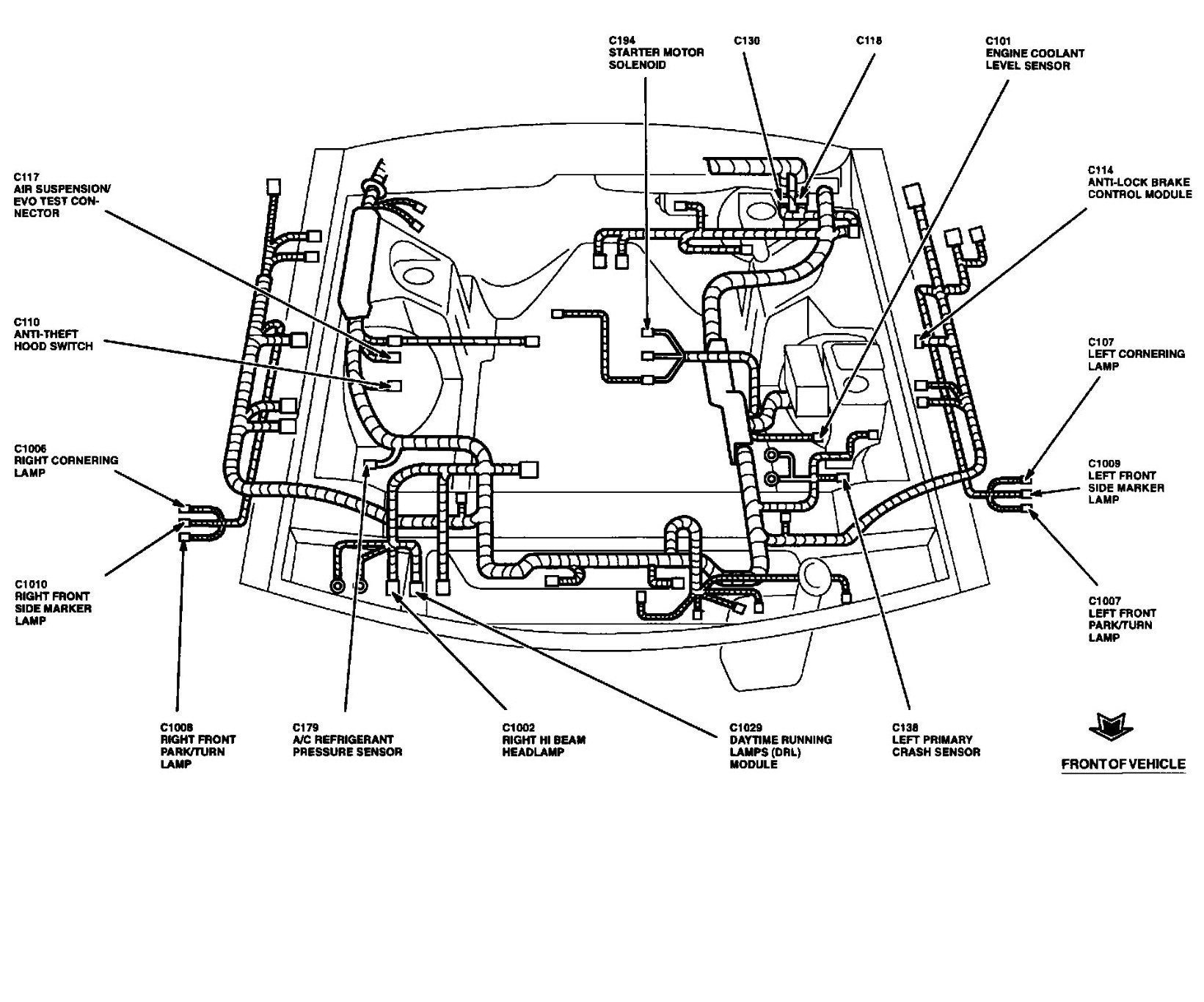 1994 lincoln mark viii wiring diagram
