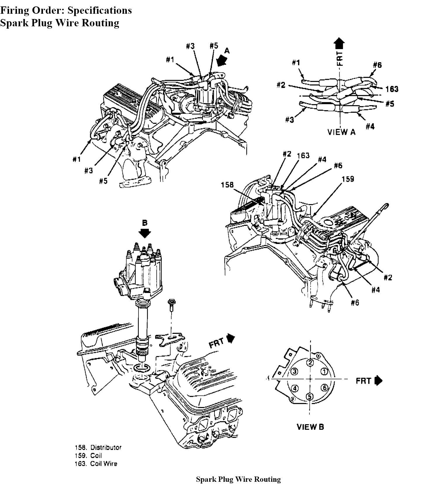 Spark Plug Wire Set For 1989 Wiring Diagram