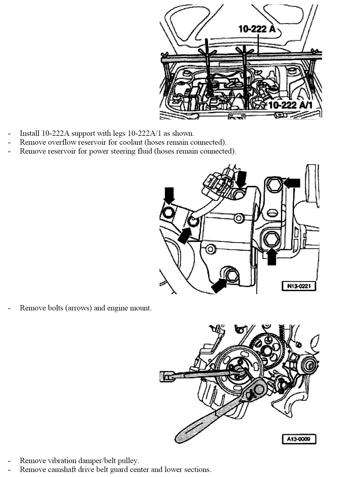 service manual  how to replace timing belt 2004 volkswagen
