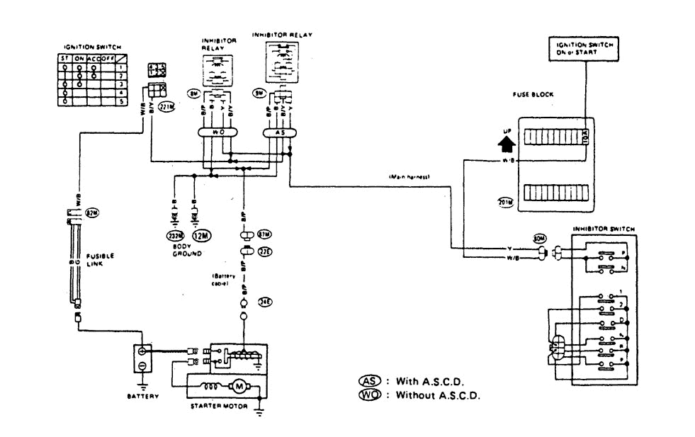 Where Is The Starter Relay Located On My 1993 Nissan
