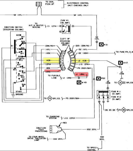electrical diagram 1987 dodge ramcharger  dodge  auto