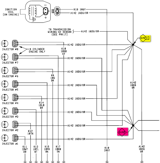 An Asd Splice Wiring on 1992 Dodge Dakota Wiring Diagram For Coil