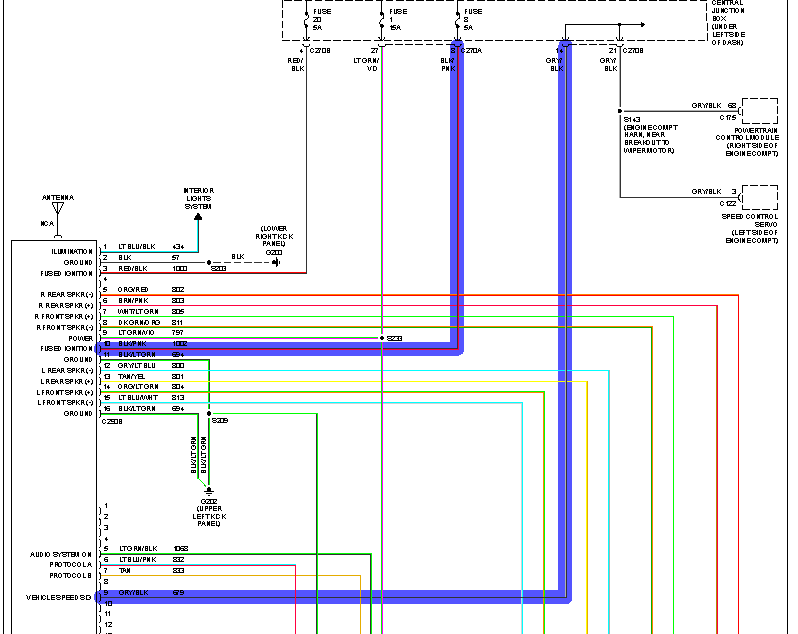 I Need The Stereo Wiring Diagram For F150 2002  What Are