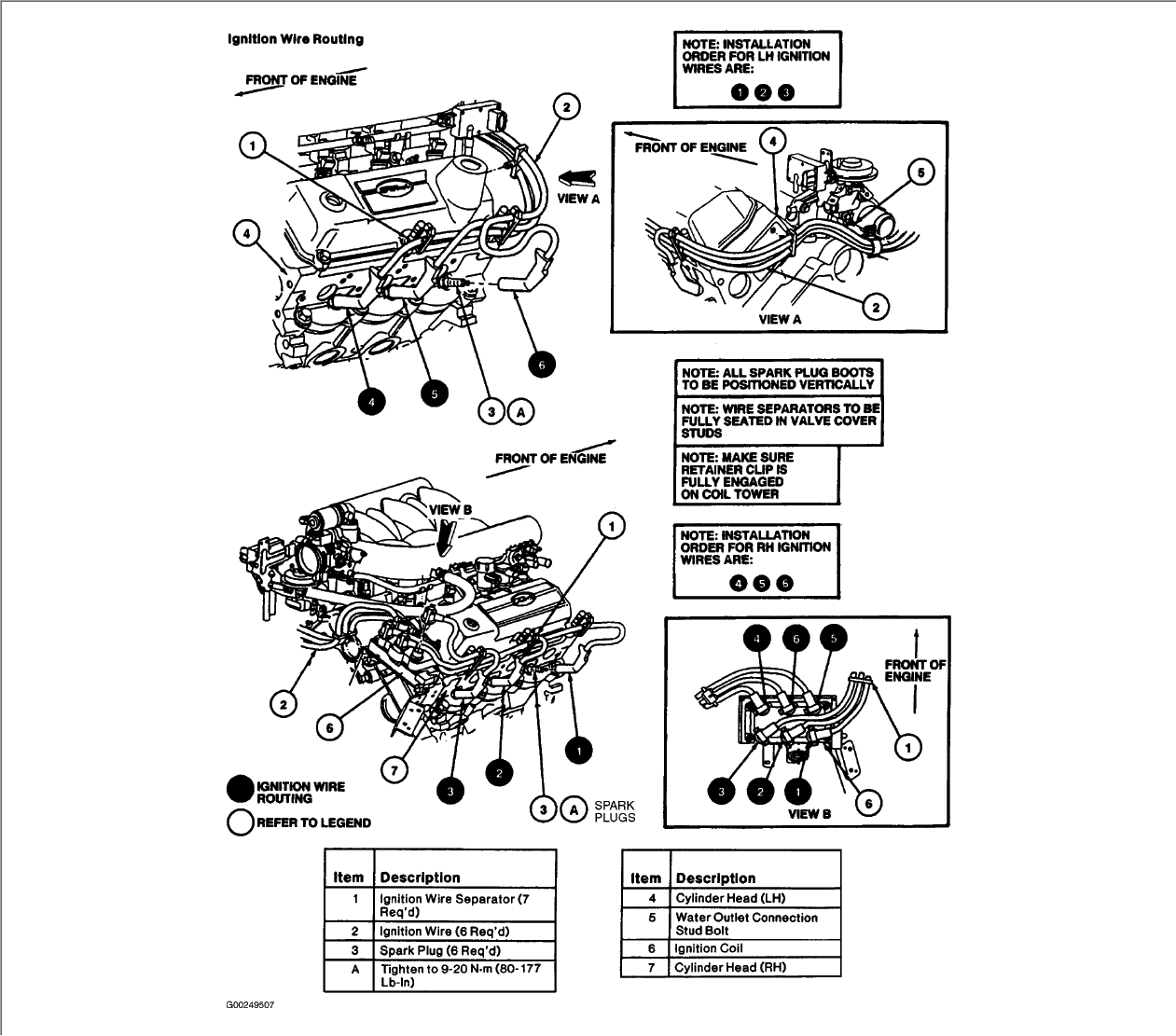 ford windstar 3 8 firing order diagram html