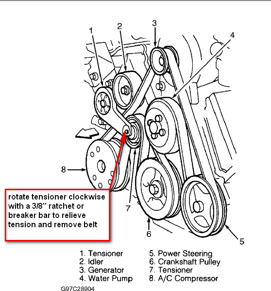 solved ford escape serpentine belt diagram fixya html