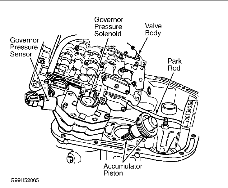 dodge ram 1500 transmission valve body diagram