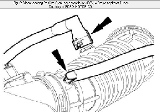 2009 Ford Focus Pcv Valve Location