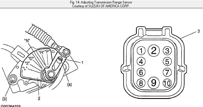 Diagram For 2004 Suzuki Aerio That Has The Transmission