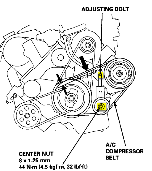 2005 acura rl belt diagram html