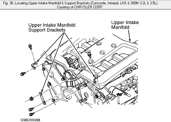 1999 dodge intrepid  can i replace the cam and crank shaft