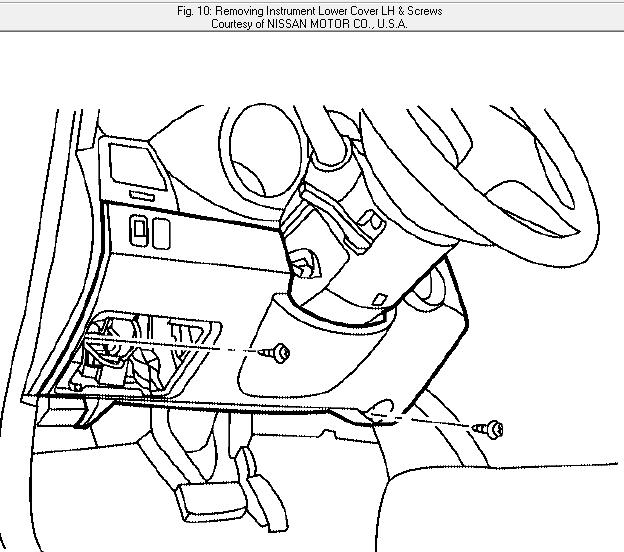 nissan altima dealer says body control module diagram showing me graphic