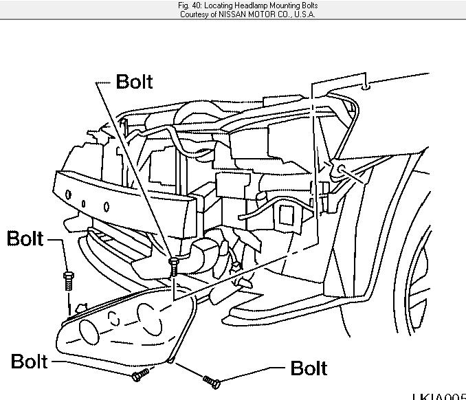 2009 nissan pathfinder front bumper removal