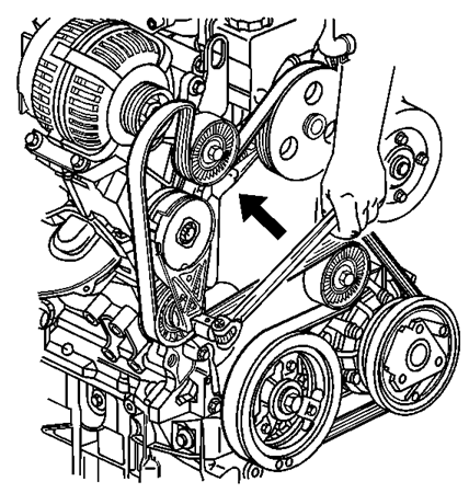 service manual [installing a 2003 oldsmobile silhouette ... 2001 aurora engine diagram #14
