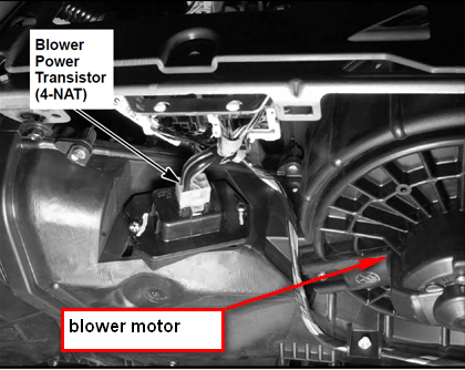 Honda blower motor resistor location 28 images honda for Blower motor only works on high speed