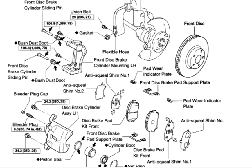 2009 toyota matrix xrs parts diagram  toyota  auto wiring