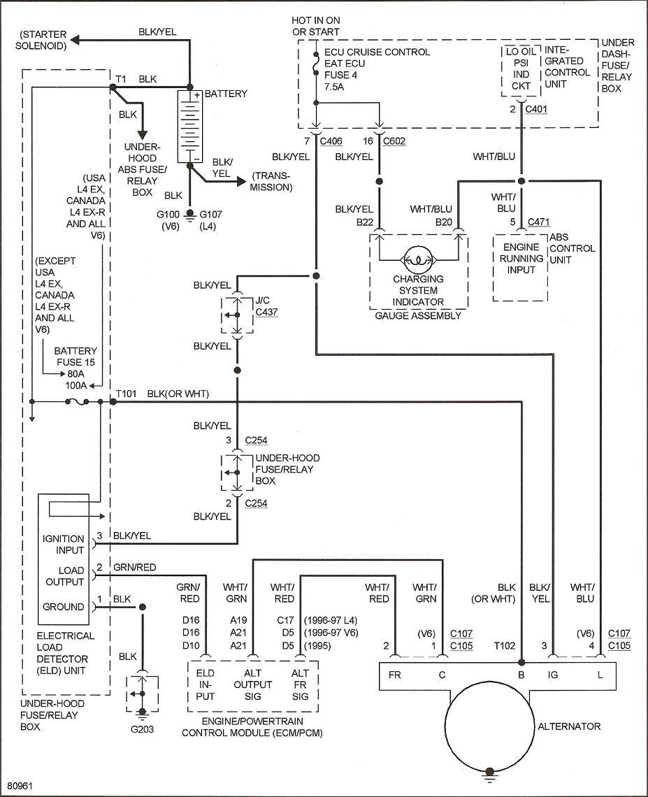 94 Honda Accord Alternator Diagram Wiring Diagram Photos For Help