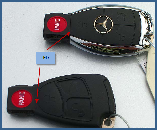 My key will start the car but will not unlock the doors or for How to unlock mercedes benz without key