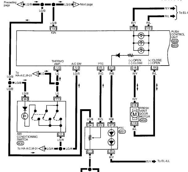 1996 altima se  c system