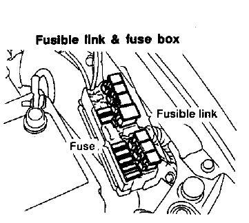 nissan altima the bulb filaments look fine fuse box blown fuse