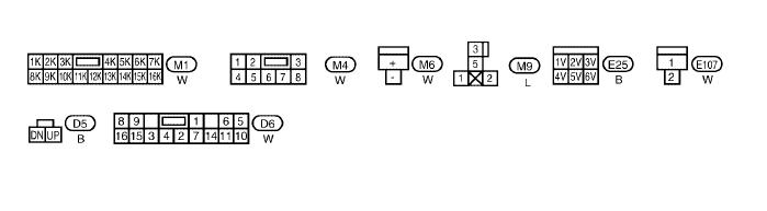 2003 nissan sentra se wiring diagram window switch spec v here are the diagrams you requested d6 is the connector for the main window switch