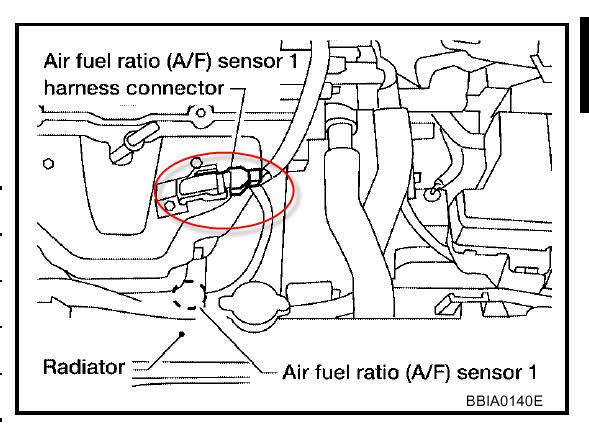 Acura Cl O2 Sensor Location on Acura Integra Air Filter