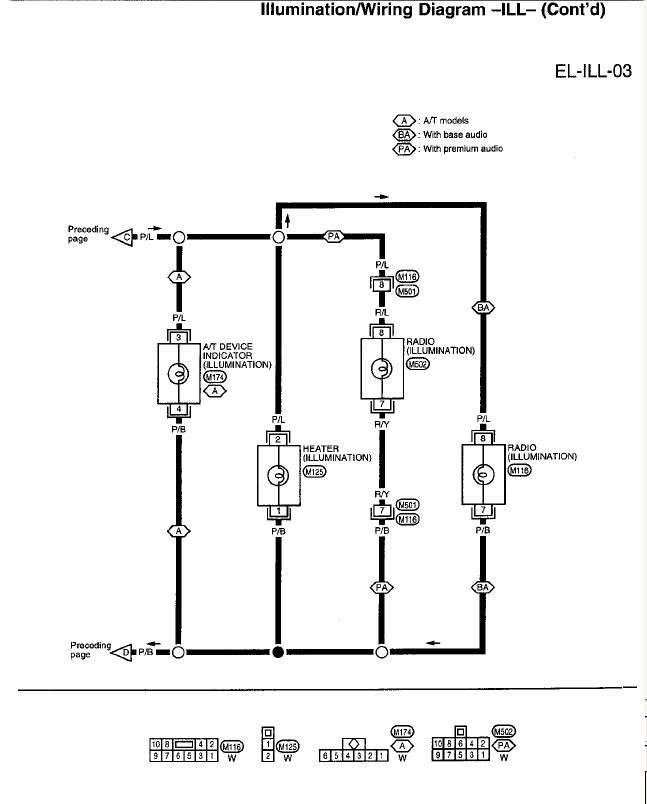 headlight wiring diagram 1997 nissan pick up  nissan  auto