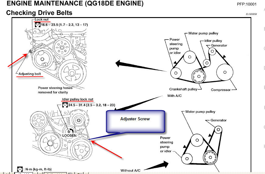 serpentine diagram 2005 nissan sentra html