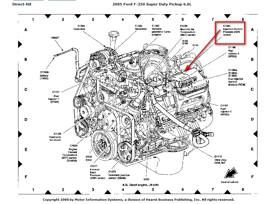 i need to replace my injector pressure control sensor on