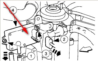 Ohv Engine Diagram besides 2001 Ford Ranger Egr Location as well Location Of  puter On 2001 Ford F150 additionally Where Is The Fuel  puter Located On A 2002 Ford Windstar moreover 18tu0 1996 Mazda B3000 Ranger 3 Liter V6 Egr. on ford ranger 3 0 dpfe sensor