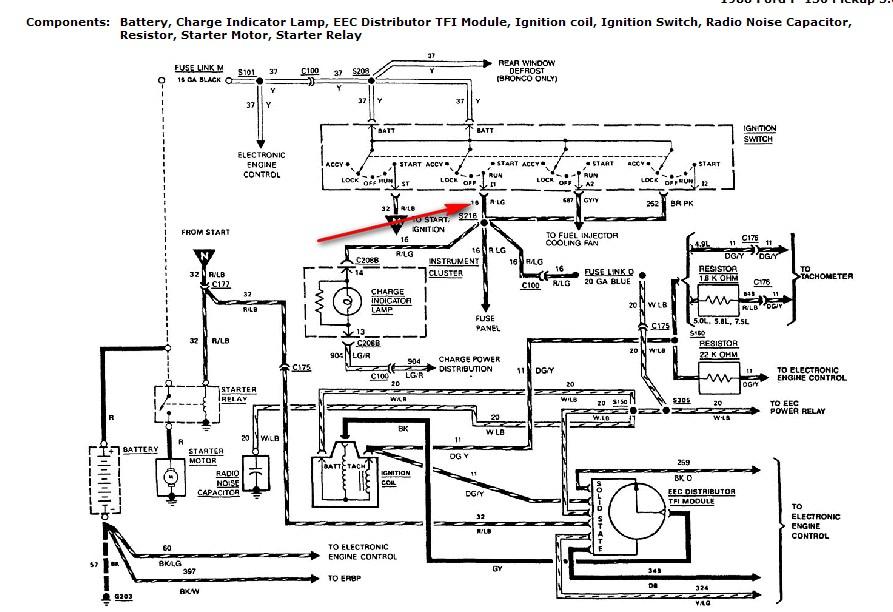 1988 ford l9000 starter wiring i have a 1988 ford f150 6 cylinder manual transmission ... #2