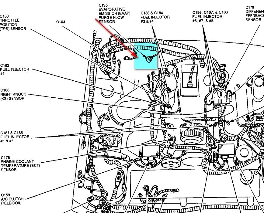 Engine and jet drive also 1989 Ford F250 Wiring Diagrams moreover 4 6l 2v Mustang Engine Diagram likewise 2001 Mazda Mpv Spark Plug Wire Coil Diagram Needed Thanks further Showthread. on 2001 ford mustang ignition coil diagram