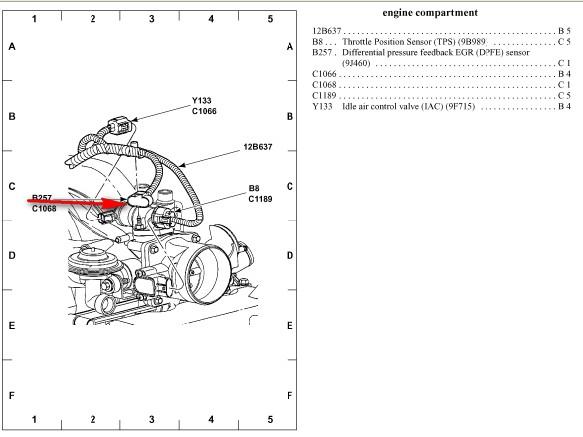 6 0 sel dpfe sensor location  6  free engine image for