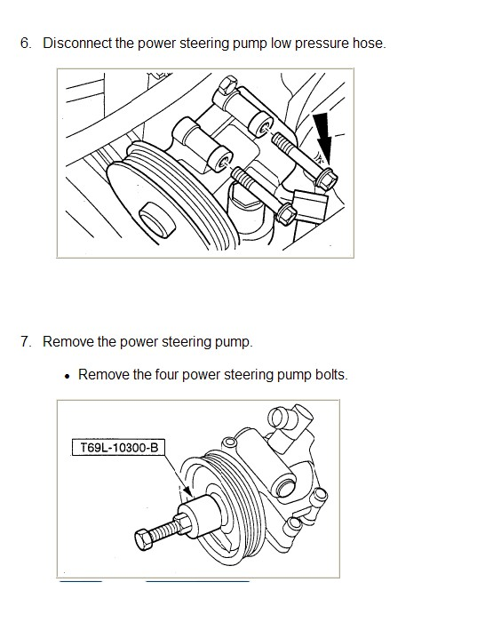i have a 1998 4 cylinder ford contour that i need to ... chevy power steering pump diagram #12