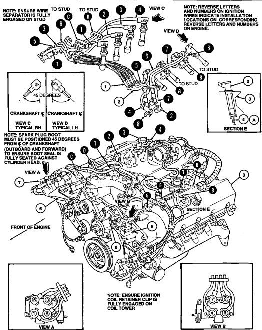 6 0 powerstroke firing order diagram
