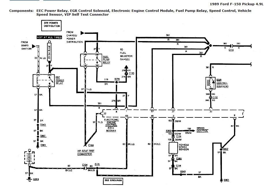 1989 ford f150 i6 4 9 manual trans wont start cranks over appears to have spark no fuel. Black Bedroom Furniture Sets. Home Design Ideas