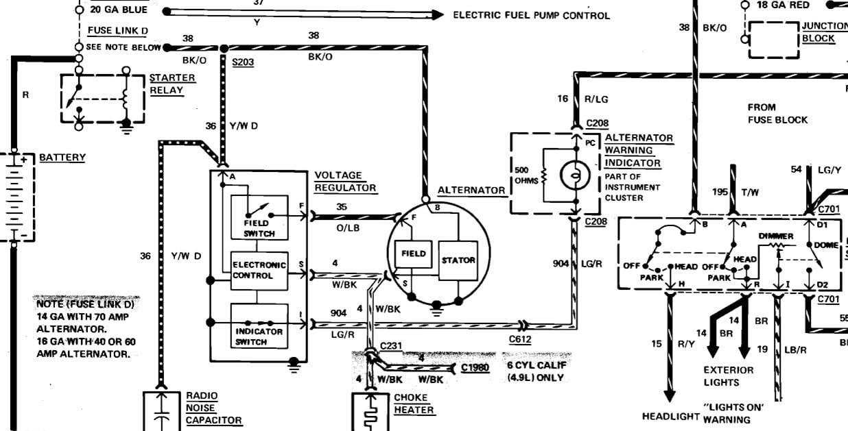 4 of 1977 f150  rebuilt alternator  75 amp