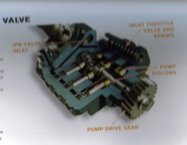 tow truck dt466 a detailed diagram of the oil fuel pump graphic graphic