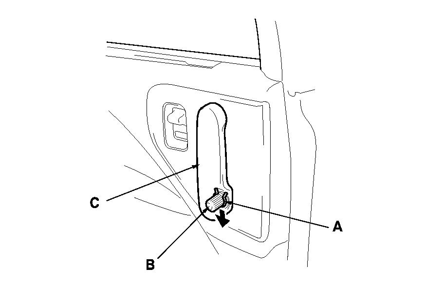 honda odyssey sliding door panel